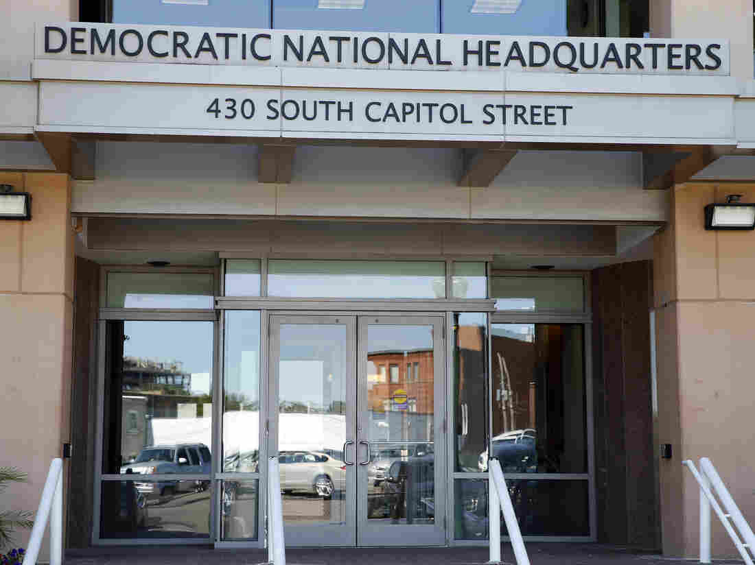 DNC says suspected hack attempt turned out to be a security test