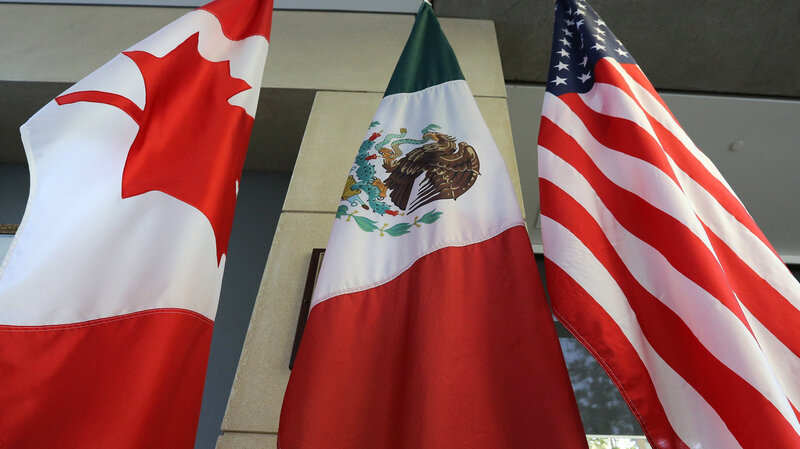 Us And Mexico Reach Trade Deal Trump Wants To Drop Nafta Name Npr