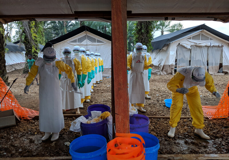 dangerous twist to ebola outbreak forces health workers to get
