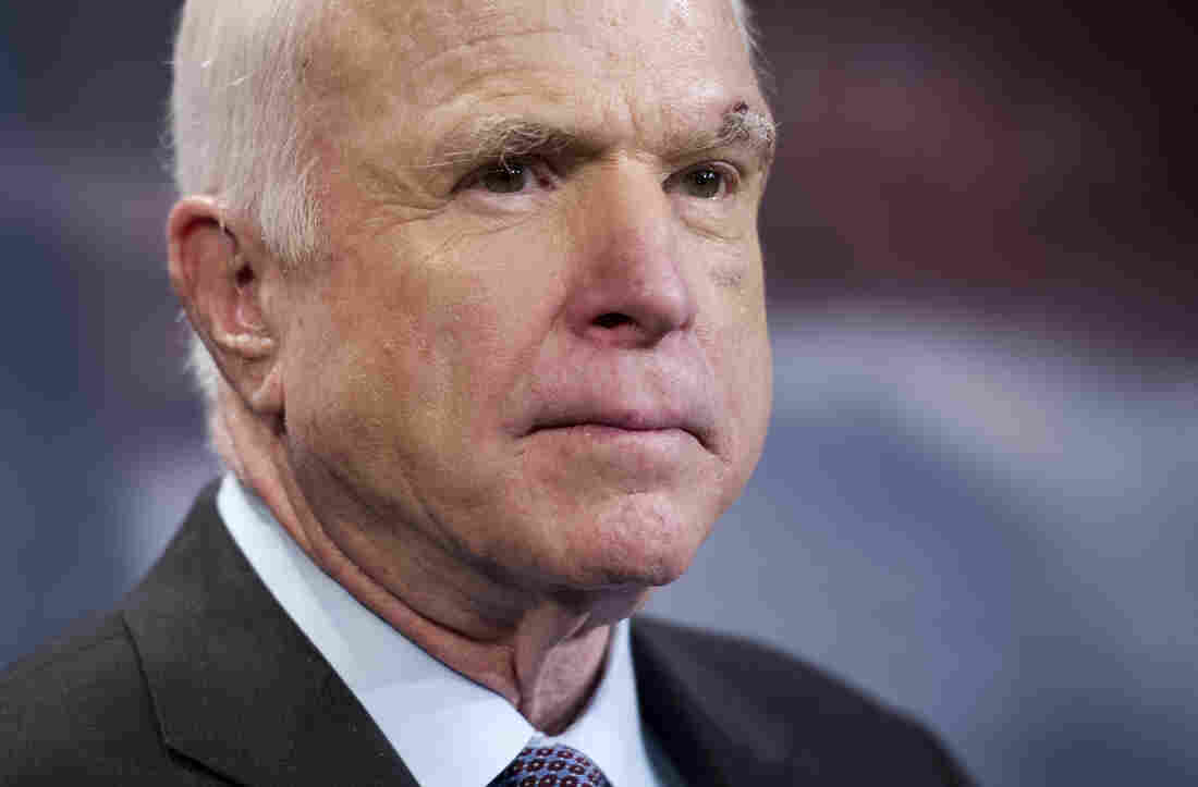 Senator John McCain Stops Medical Treatment for Brain Cancer
