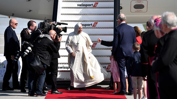 The Pope Lands In Ireland, Overshadowed By Church Scandals