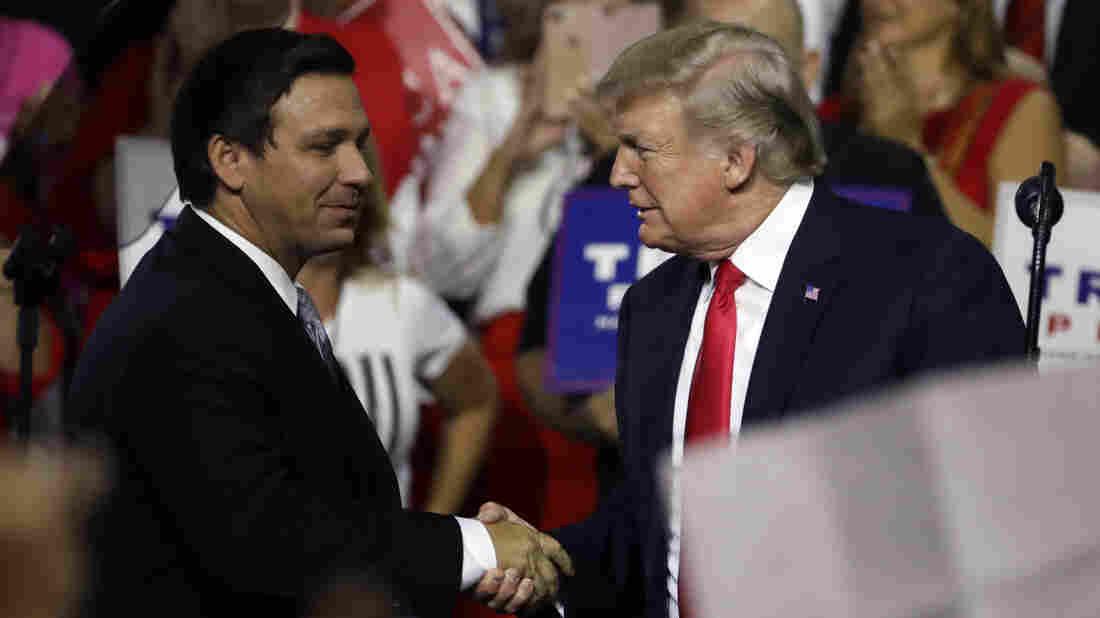 DeSantis rides Trump endorsement to win