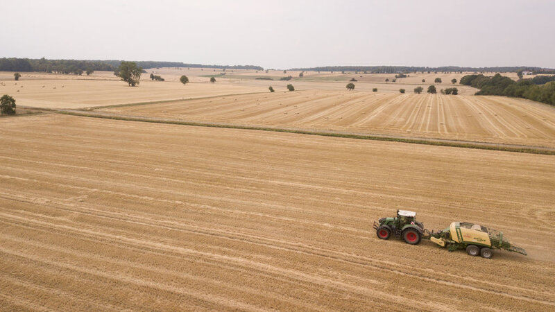German Farmers Struck By Drought Fear Further Damage From Climate