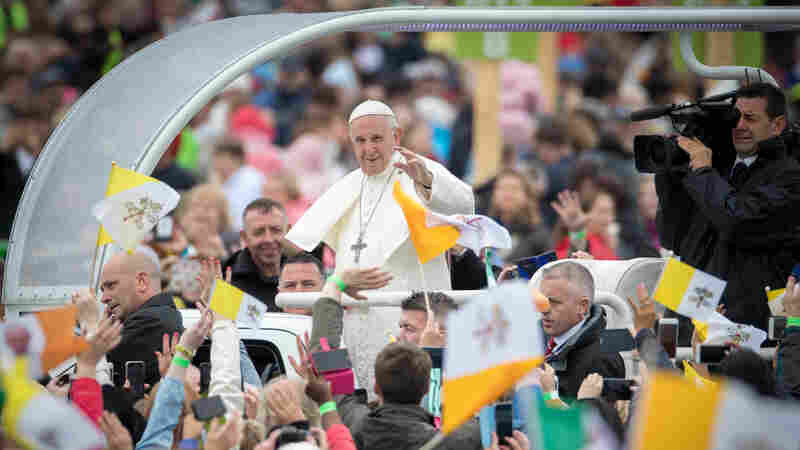 Pope Ends Visit To A Disillusioned Ireland, Where Church Authority Has Plunged