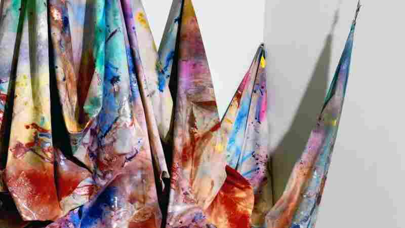 Hard At Work At 84, Artist Sam Gilliam Has 'Never Felt Better'