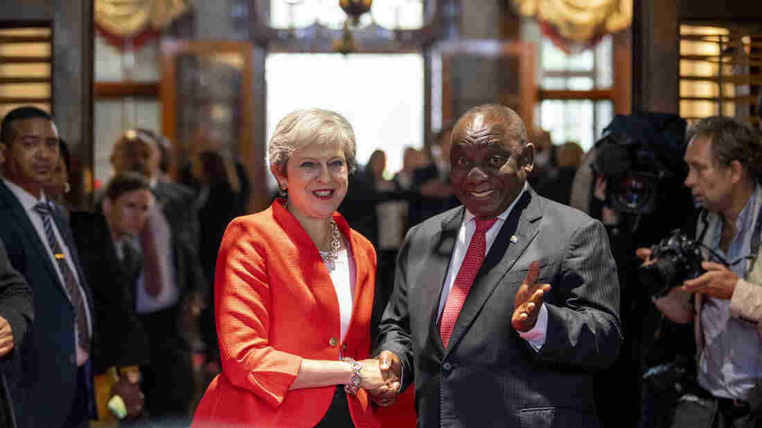 United Kingdom supports South Africa land reform, says May