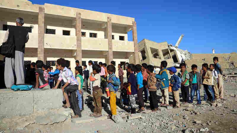 U.N. Experts: Some Saudi-Led Airstrikes In Yemen Could Be War Crimes