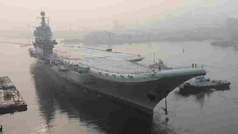 China's Newest Aircraft Carrier, 'Type 001A,' Reportedly Begins Sea Trials