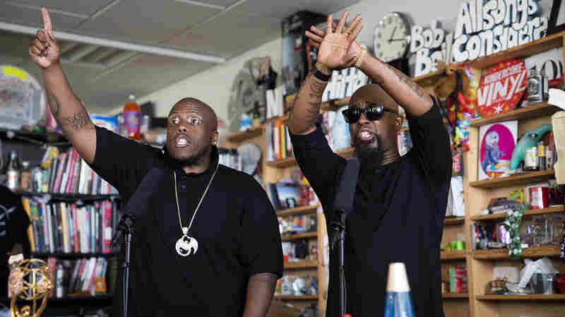 Tech N9ne Feat. Krizz Kaliko: Tiny Desk Concert