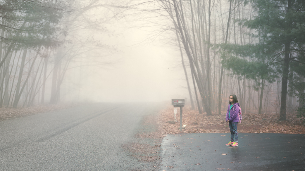 Where The Driveway Ends, Photographer Dad Sees Hopes And Fears