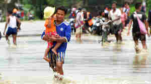 After Dam Failure, Thousands Flee In Myanmar
