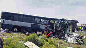 Greyhound Bus, Semitruck Crash Head-On In New Mexico; At Least 7 Killed