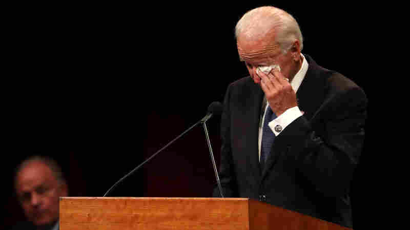 'We Shall Not See His Like Again': Joe Biden Honors His Friend John McCain