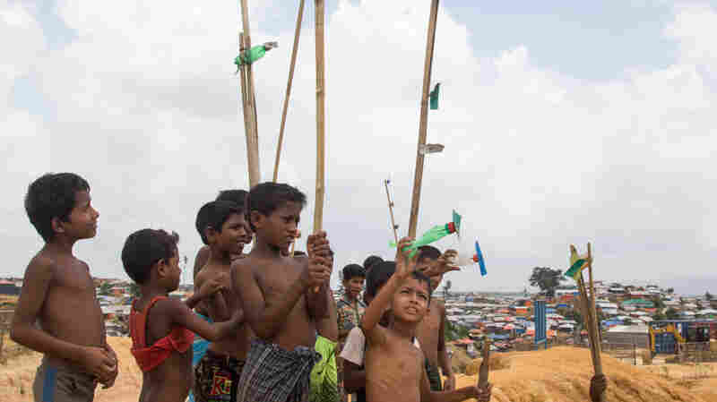 In Bangladeshi Camps, Rohingya Refugees Try To Move Forward With Their Lives