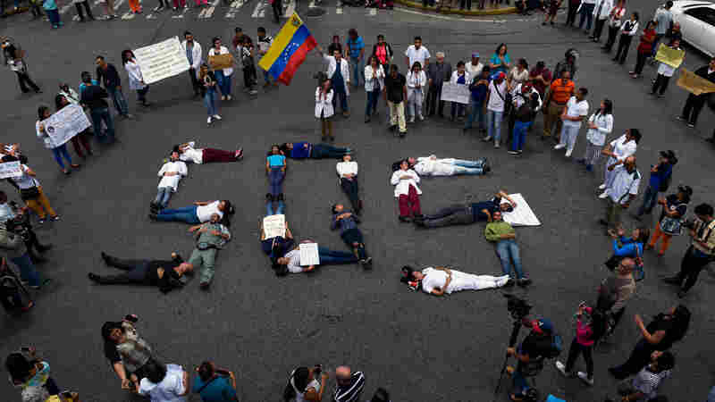For Many In Venezuela, Social Media Is A Matter Of Life And Death