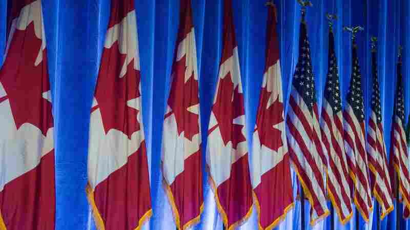 U.S.-Canada Trade Talks Continue In Bid To Update NAFTA