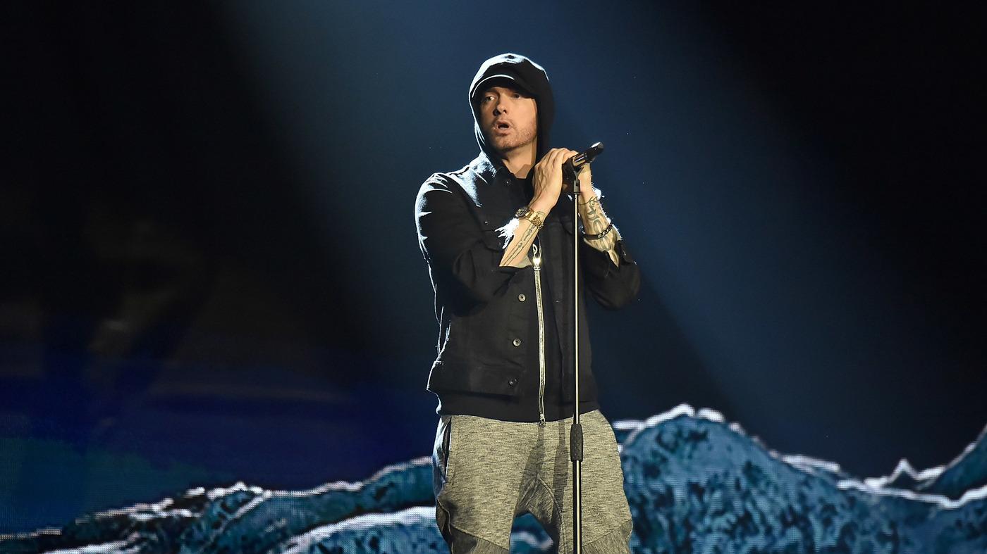 Eminem Releases Surprise Album, 'Kamikaze' : NPR