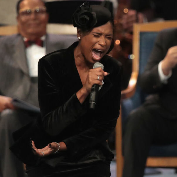 At Aretha Franklin's Funeral, Gospel Was The Heart — And Backbone