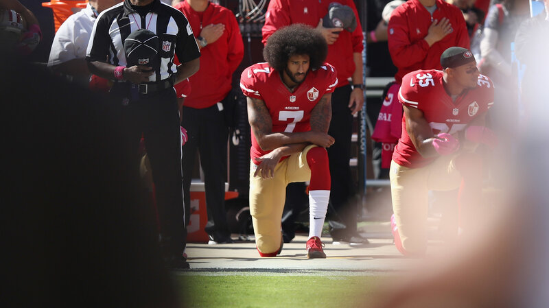 3a7ebbadd44f9 Colin Kaepernick Is Chosen For Nike s Anniversary  Just Do It  Campaign
