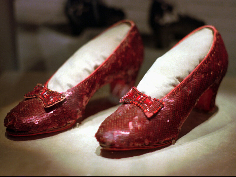 3cfa55a9a7c FBI Says It Has Recovered Stolen Ruby Slippers