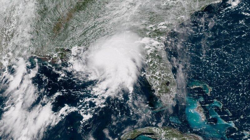 tropical storm gordon makes landfall in mississippi npr