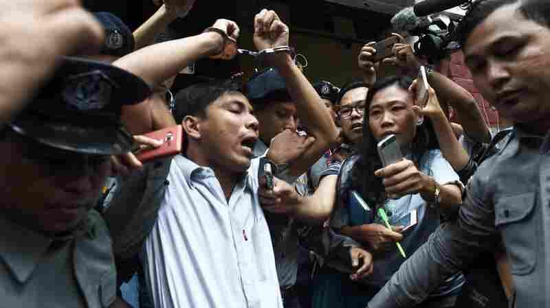 U.S. Officials Condemn Reuters Journalists' Convictions In Myanmar