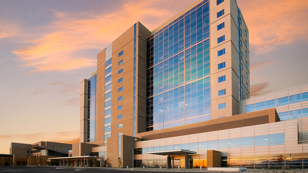 A leader in the generic drugmaker being launched by hospitals is Intermountain Healthcare, whose Intermountain Medical Center Patient Tower in Murray, Utah, is seen here.