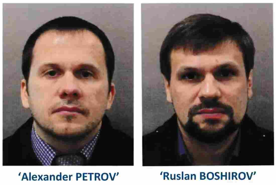The British police tracked the route the suspects in the poisoning Skrobala