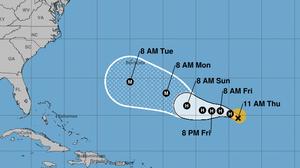 Hurricane Florence's Path Shifts Westward, Putting Bermuda On Notice