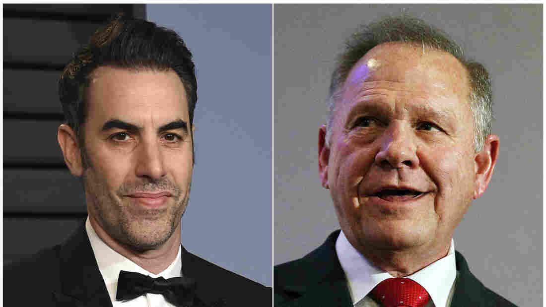 Roy Moore sues Sacha Baron Cohen for $95 million