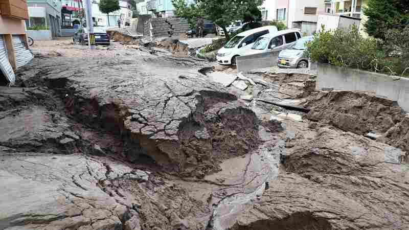 At Least 7 Dead As Strong Quake Strikes Japan's Hokkaido, Triggering Landslides