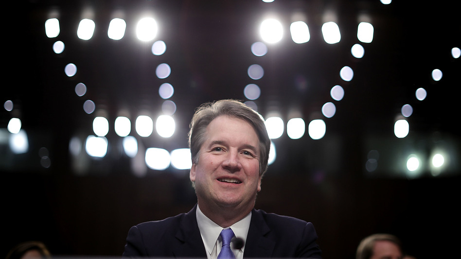 Supreme Court nominee Judge Brett Kavanaugh prepares to testify before the Senate Judiciary Committee Thursday on the third day of his Supreme Court confirmation hearing on Capitol Hill. (Chip Somodevilla/Getty Images)