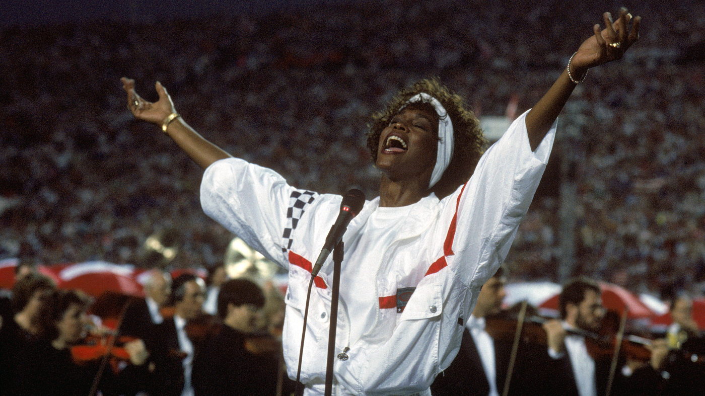 How Sports Met 'The Star-Spangled Banner' : NPR