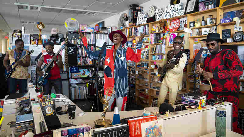 Jupiter & Okwess: Tiny Desk Concert
