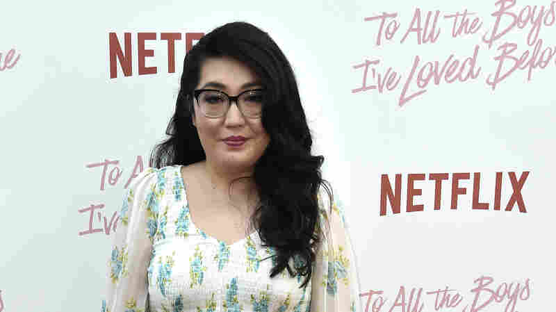 Author Jenny Han attends the screening of Netflix's To All The Boys I've Loved Before on Aug. 16, 2018 in Culver City, Calif.
