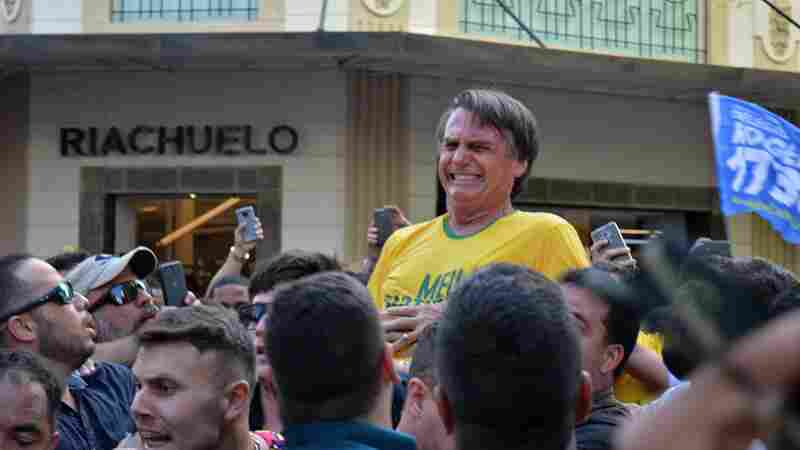 Brazil's Presidential Front-Runner Is Seriously Wounded In Attack At Campaign Rally