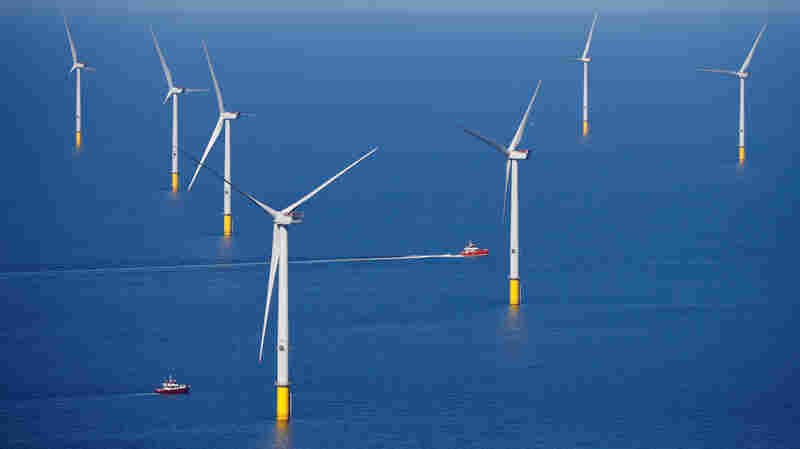 A 55-Square-Mile Wind Farm Is Now Operating Off England's Shore