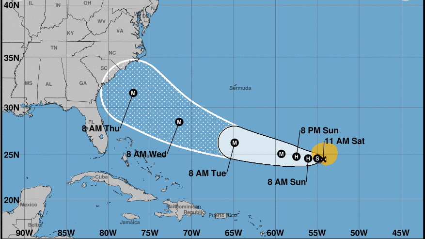 Florence Forecast To Become A Major Hurricane; Risk To The ...
