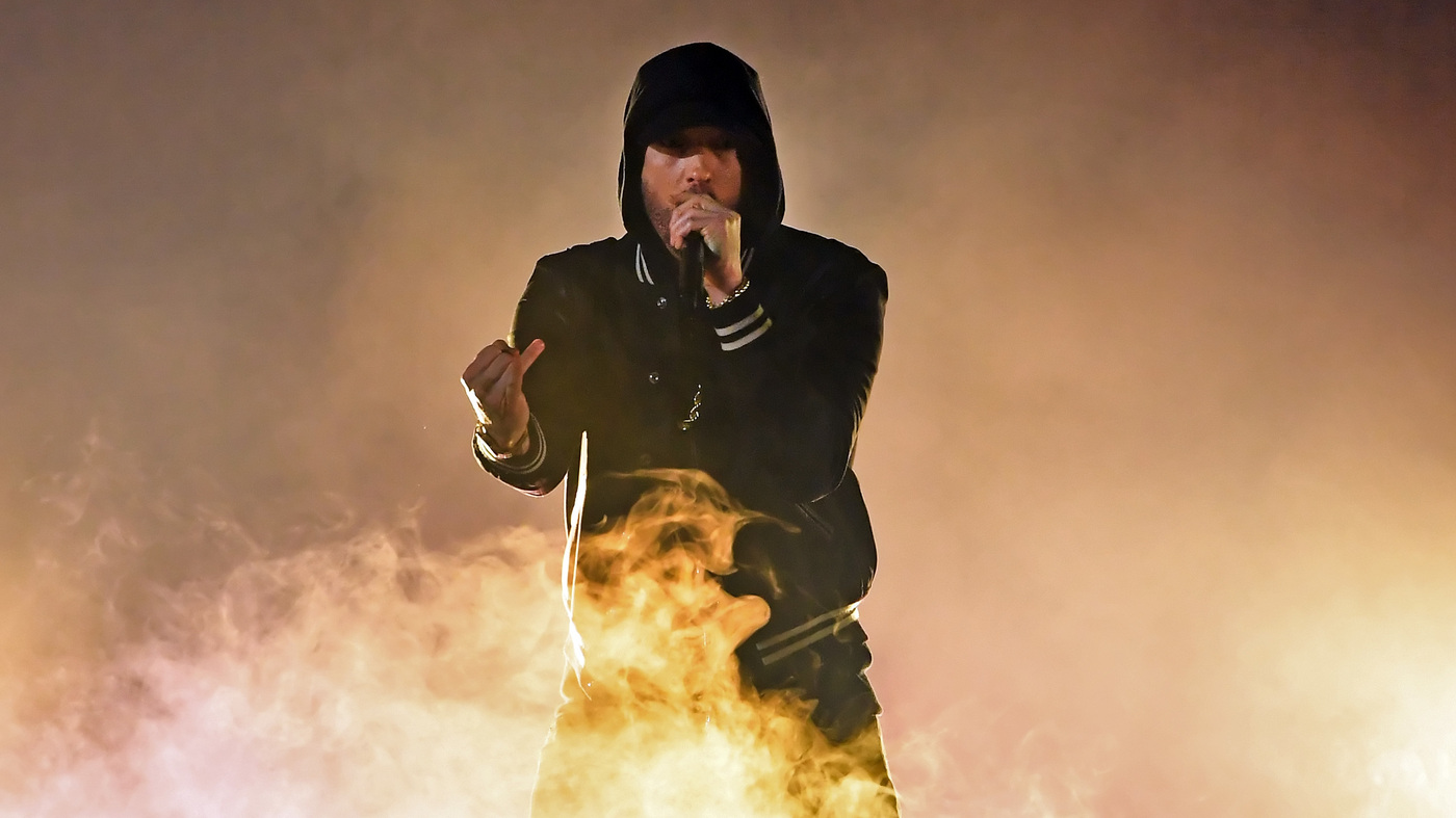 Eminem Became A Parody Of Himself And Everybody S Laughing Npr