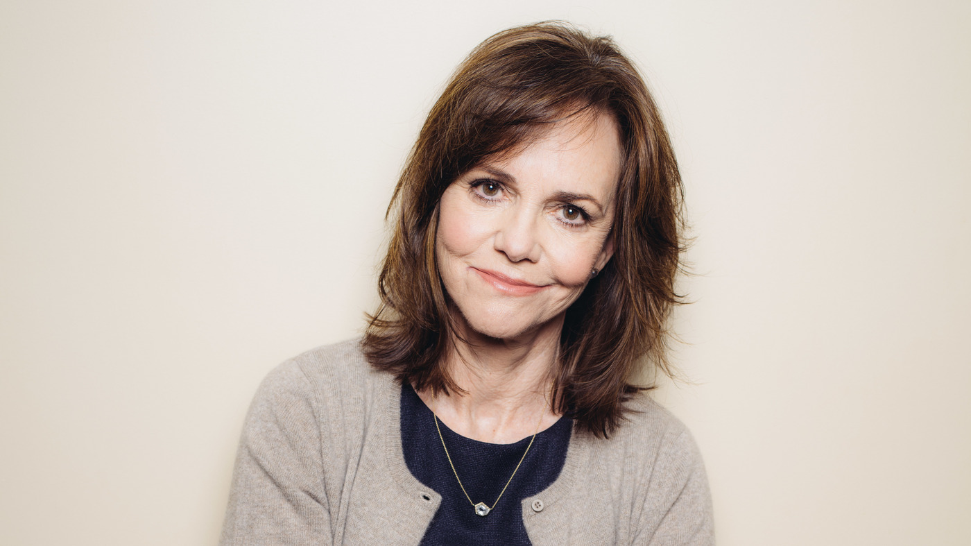 Sally Field Wasn't Sure She'd Have The Guts To Publish Her New Memoir : NPR