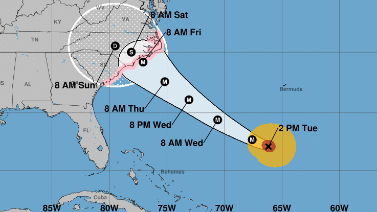 Hurricane Florence This One Really Scares Me Forecaster Says Npr