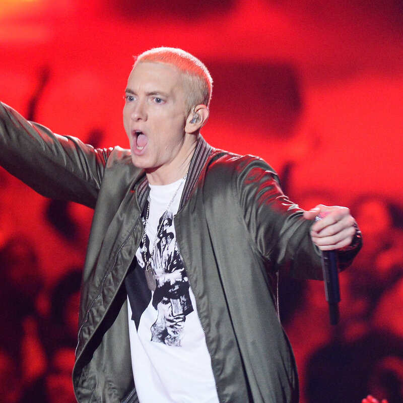 Eminem Became A Parody Of Himself And Everybody's Laughing : NPR
