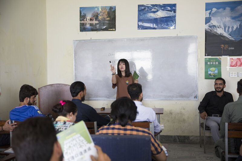 In Pakistan, Learning Chinese Is Cool — And Seen As A Path