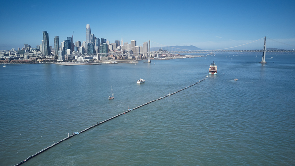 A Massive Floating Boom Is Supposed To Clean Up The Pacific. Can It Work?