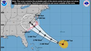 Florence Gains Strength As A Category 4 Hurricane, Aiming At U.S. East Coast