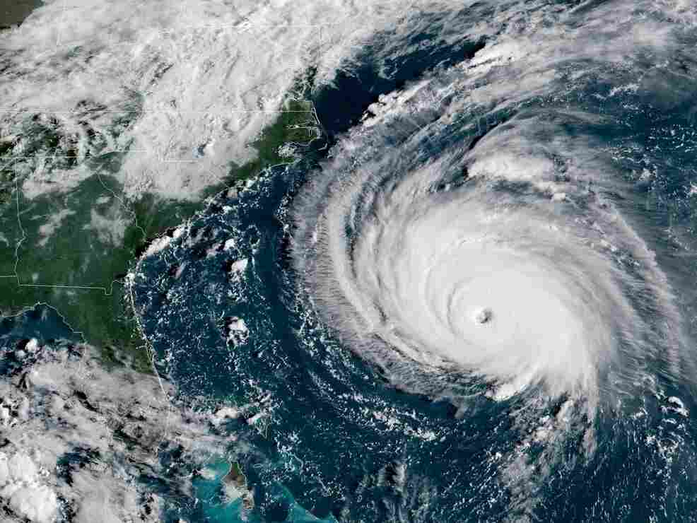 NASA Releases Footage Of Hurricane Florence And Her 'Mike Tyson Punch'