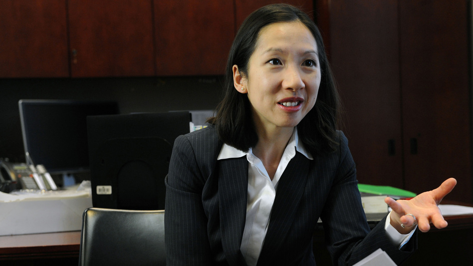 Dr. Leana Wen, health commissioner for the Baltimore City Health Department, talks about the effectiveness of contraception for public school students in 2015. Wen will be the new head of Planned Parenthood Federation of America. ( Kim Hairston/Baltimore Sun/TNS via Getty Images)