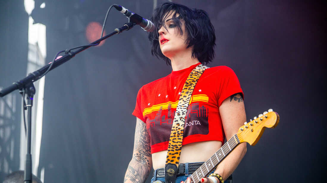 Hear Two New Songs From The Distillers: 'Man vs. Magnet' And 'Blood In Gutters'