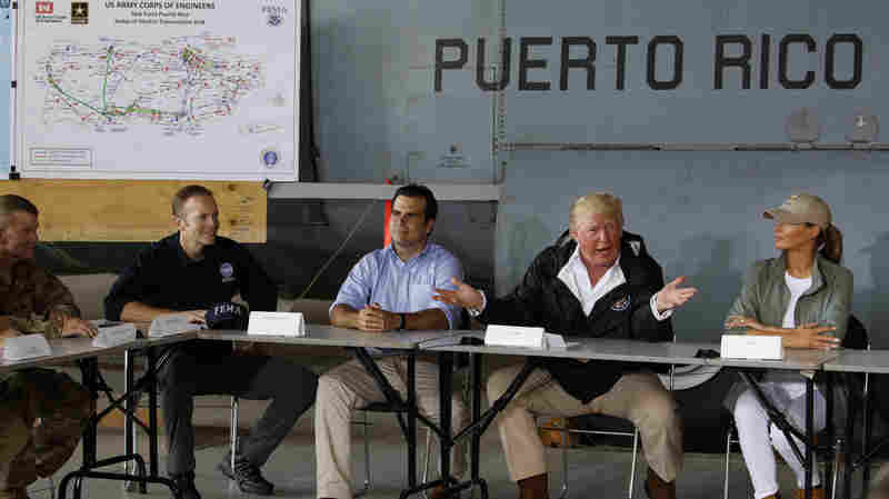 Trump Denies Almost 3,000 Died In Puerto Rico, Falsely Claims Democrats Inflated Data