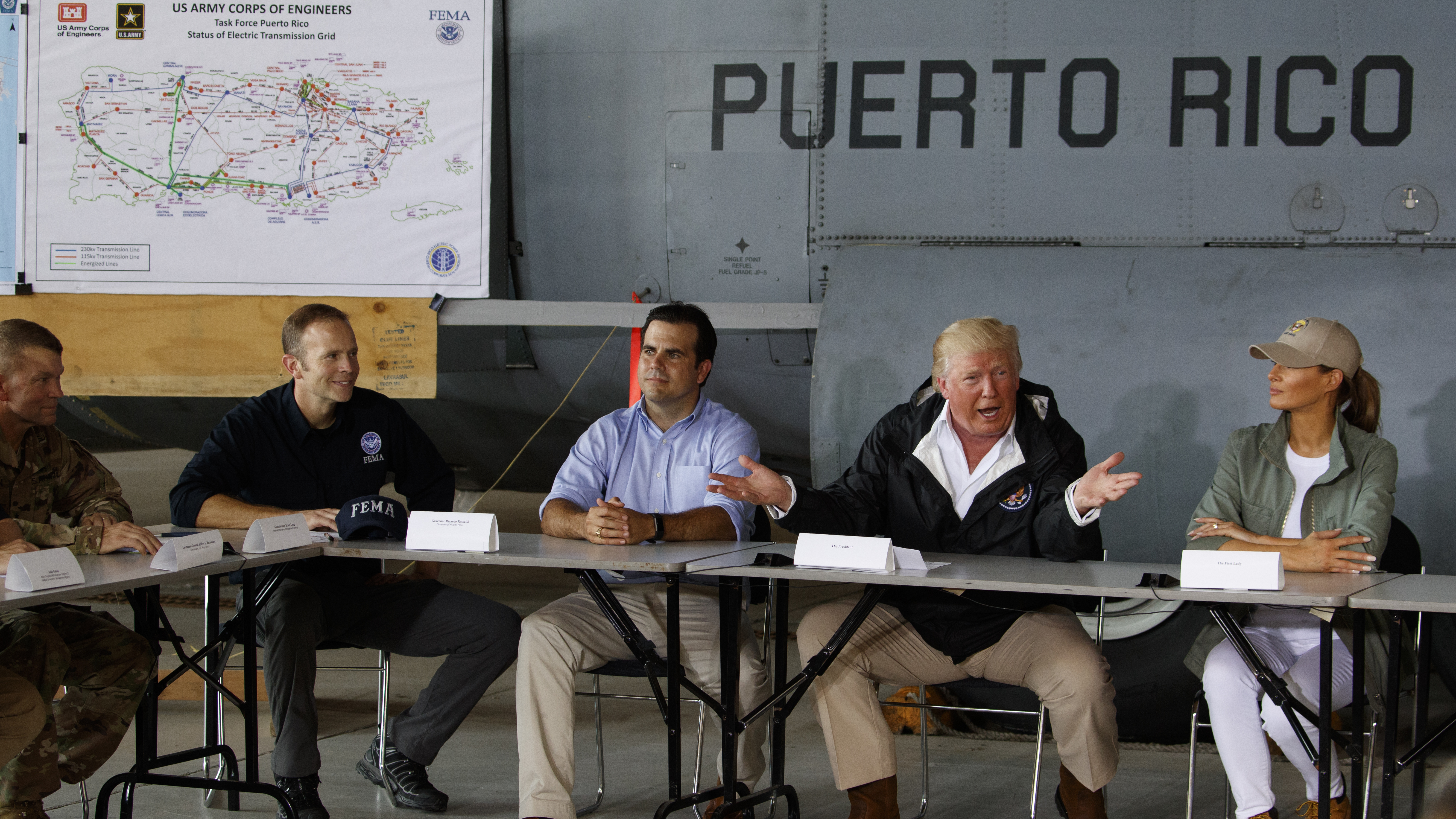 Trump declares himself victim in Hurricane Maria death toll